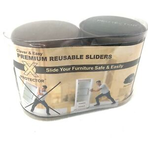 Clever & Easy Premium Reusable Silders Furniture Kit for Carpet and Hard Floor