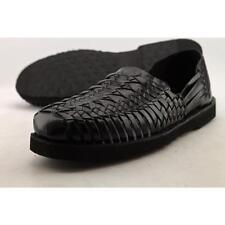 Scarpe da uomo sandali con cinturino nero