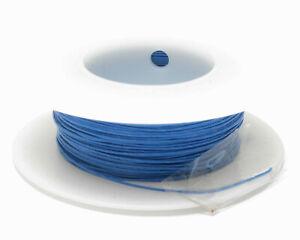 Kynar Wire Wrap Wire, 30AWG, 100ft Blue