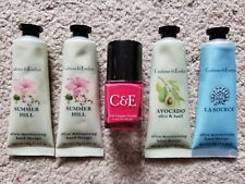 Crabtree & Evelyn Lot-Camellia Polish+Avocado-Summer Hill-La Source Hand Therapy