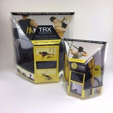 Trx Suspension Trainer Kit Training Workout Anchor Door Resistance Basic New Fat