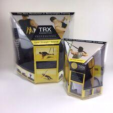 Trx Suspension Trainer Kit Training Workout Anchor Door Resistance Basic New Fat