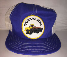 Vtg Volvo BM Trucker Hat cap PATCH Made in Canada 80s tractor equipment farming