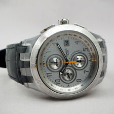 SWATCH SWISS automatic chronograph, size 45mm, Bronz dial, white acrylic case