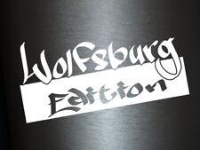 1 x Plott Aufkleber Wolfsburg Edition Special Style Sticker Tuning Decal OEM Fun