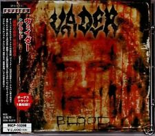 "VADER ""Blood"" CD import Japan w/obi +1 Bonus track 2003 Avalon ‎– MICP-10398"