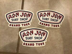 """Genuine Ron Jon Surf Shop Logo 5.5/"""" Sticker!"""
