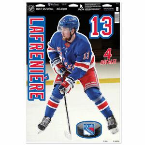 "ALEXIS LAFRENIERE NEW YORK RANGERS MULTI-USE DECALS 11""X17"" LIKE A FATHEAD NHL"