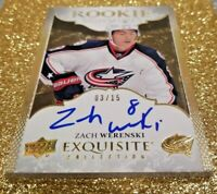 2016-17 Exquisite Collection Rookie Signatures Spectrum Zach Werenski Auto /15