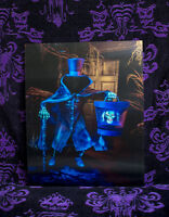 Hatbox Ghost lenticular changing picture Haunted Mansion Disneyland Disney World