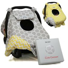 Sho Cute - [Reversible] Carseat Canopy | All Season Baby Car Seat Cover Boy o...
