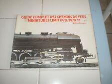 ancien catalogue Lima 1978-1979