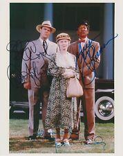 Morgan Freeman/ Jessica Tandy/ Dan Aykroyd Autograph, Original Hand Signed Photo