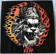 """No Fear"" Nrsmhadeva vinyl sticker (Vedic or Hindu God sticker for protection)"