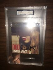 Taylor Swift Autographed Red CD PSA DNA Sealed RARE