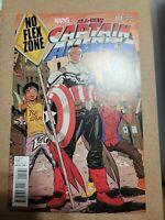 All New Captain America 1 2nd Print Marvel  No Flex Zone Rae Sremmurd Variant