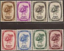 BELGIUM, SC B225-32, 1938 Prince Albert Charity issue. MNH/MLH. CV $24