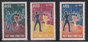 Vietnam - S.   1964   Sc # 239-41   VLH   OG   (1-058)