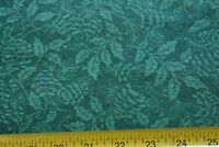 By 1/2 Yd, Gold & Green on Dark-Green Quilt Cotton, Fabric Traditions/1997 N2292