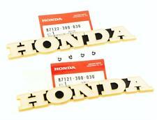 Honda CB 500 550 Quatre K0 K1 750 K1 Logo Réservoir Emblème Kit à Carburant L +
