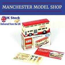 Tomica 95 London Bus KMB vintage livery Hong Kong Edition + stickers BOXED NEW