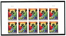 US  4584  Kwanzaa - Forever Top Plate Block of 10 - MNH - 2011 - P1111