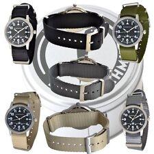 Armbanduhren mit Textilgewebe-Armband und mattem Finish für Damen
