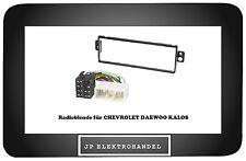 Einbauset Radioblende + ISO Adapter  für CHEVROLET DAEWOO KALOS Einbaurahmen