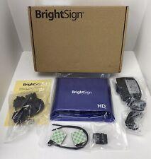 Brightsign Hd223 Standard I/O Html5 Player-Advertising-Haunte d Attractions-Menu