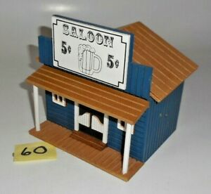 Vintage O 027 S SCALE WOOD SALOON 60