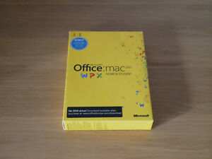Microsoft Office Retail Home and Student 2011 for Mac (GZA-00136D - 01) *no res*