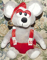 """DanDee Christmas Animated Singing Mouse """"WE ARE SANTA'S ELVES"""" LIGHT UP PLUSH"""
