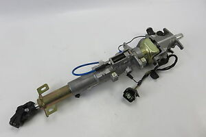 03 Aston Martin DB7 steering column assembly w/ ignition switch and key