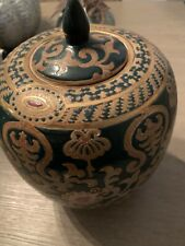 Antique Beautiful Chinese Hand Painted Design Porcelain Urn Ginger Jar-K3, G33