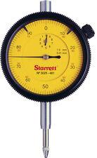 Starrett 3025 0-100 0.01mm dial test indicator DTI clock gauge 3025-481