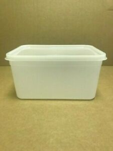 Plastic Storage Containers 50 x 3ltr Rectangular