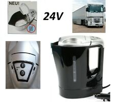 High Power 24V Truckers Electric Kettle 1-Liter 300W HGV Hot Water Tea Coffee