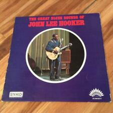 JOHN LEE HOOKER [THE GREAT BLUES SOUNDS OF] R&B FRENCH PRESS LP America