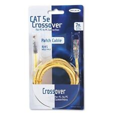 Belkin Cat5e Crossover Cable - Rj-45 Male Network - Rj-45 Male (a3x12607ylwm)