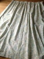 """LAURA ASHLEY Pair Of Curtains, 3"""" Tape, 180cm L x 270cm W Each, Lined, VGC"""