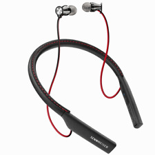 Sennheiser HD 1 Momentum In-Ear Wireless Bluetooth Headphones (Black/Red)