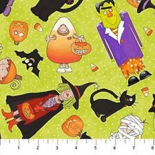 1 yd of Happy Halloween by Northcott Fabrics