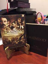 DEADWOOD: THE COMPLETE FIRST SEASON  (DVD, 2014, 6-Disc Set) SHELF COPY/LN