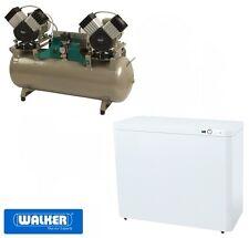 Dentalkompressor EKOM DK50 2x2V/110 S schallgedämmt - in Laborqualität