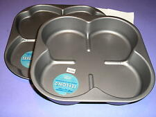 PIZZA PAN Deep Dish and Regular (Set of 2) Teflon 2 Made in Italy