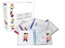 CHILDREN'S FAVOURITES 5 CD BOX SET - HAPPY BIRTHDAY, LULLABIES & MORE