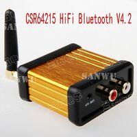 CSR64215 HiFi Bluetooth V4.2 Audio Receiver Box APTX For Car Amplifier Speaker