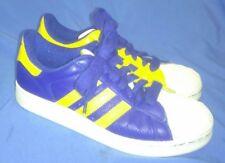 Adidas Sneakers Blue Yellow White Size 5.5 Men 7.5 Women