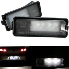 2x Error Free License Plate Light Lamp LED For VW Beetle Polo Golf MK7 Passat CC