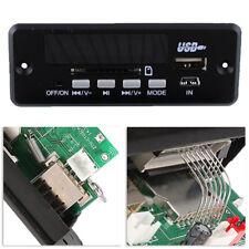 Bluetooth MP3 WMA Décodeur Module Sans Fil 12V 5P Audio USB TF FM Radio Voiture